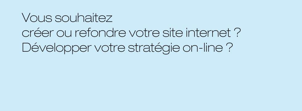 Stratégie web et on-line